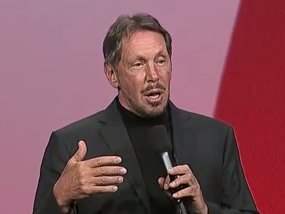 Here's How Larry Ellison Invented Cloud Computing