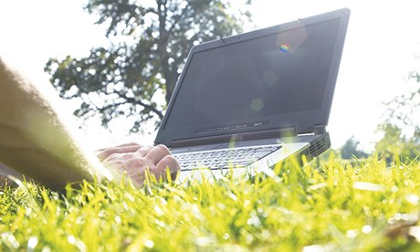 How is cloud computing enhancing our ability to work anywhere?