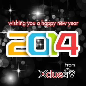Xcluesiv wishes you a Happy New Year 2014