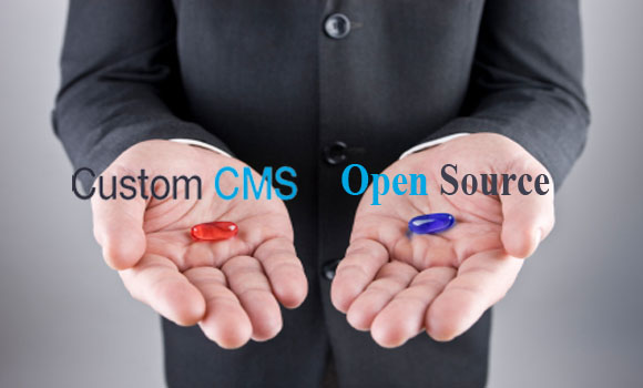 Who Wins the War Custom CMS or Open Source CMS
