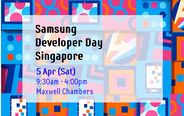 [Singapore] Samsung Developer Day