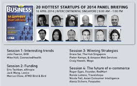 [Singapore] 20 Hottest Startups of 2014 Panel Briefing