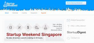 [Singapore] Startup Weekend Singapore 2014