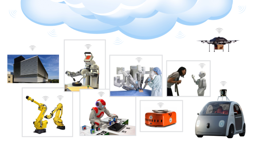Head in the clouds: 5 elements of cloud robotics