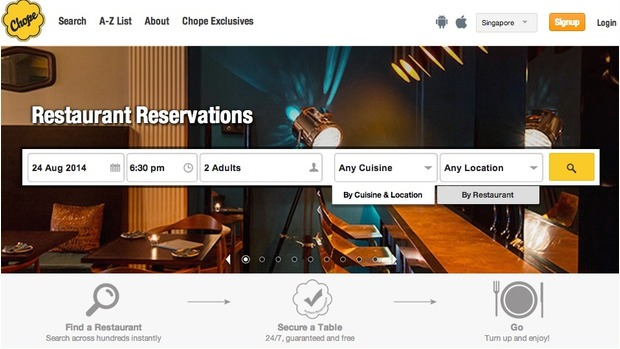 Singapore startup bites into China, new markets with F&B booking service